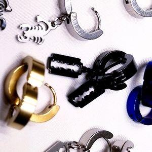 2/$10 Stainless Steel Earrings